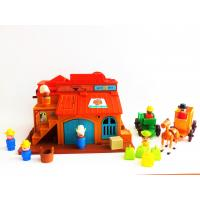 Fisher Price 934 - western town - retro toys