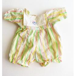 Jeu - Fisher price 292 rétro - vêtement officiel pour poupée - combinaison short