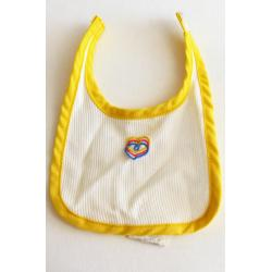 Fisher Price - official cloth for soft baby doll - bib - retro toys