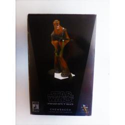 Star wars -  statue de Chewbacca en résine - gentle giant