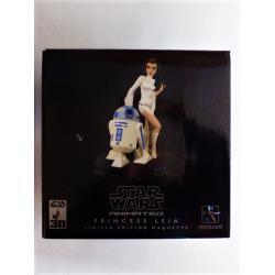 Star wars -  statue de princesse Leia en résine - gentle giant