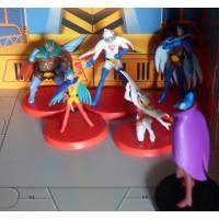 La bataille des planètes (Gatchaman) - 6 figurines - Gachapon