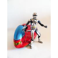 Space sheriff Gavan & roller sky pack action figure - Bandai