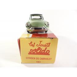 Citroën DS cabriolet 1961 Solido - Hachette