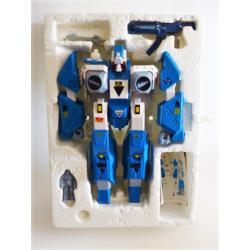 Robotech -  Legios  MACROSS action figure -  Blue alpha fighter - Gakken
