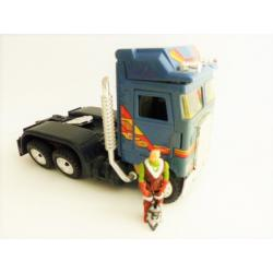 Mask Bulldoze vehicle - Kenner -  loose retro 80's collecting toy