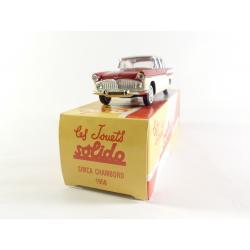 Simca chambord 1958 Solido - Hachette