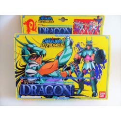 Saint Seiya - Dragon Shiryu - bandai retro - used wit box
