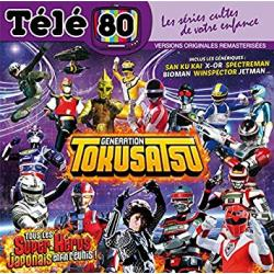 CD - Télé 80 Génération Tokusatsu (Spectre man) - The hand saban music