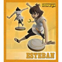 the mysterious cities of gold  Esteban statue - retro limited edition in box - custom arts
