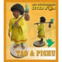 Les mystérieuses cités d'or statuette Tao - Edition rétro limitée en boîte - custom arts