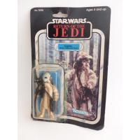 star wars - Logray figurine rétro sous blister  - kenner - le retour du Jedi - 1983