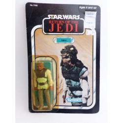 star wars - Nikto figurine rétro sous blister  - kenner - le retour du Jedi - 1983