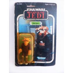 star wars - ree yees  rétro action figure with blister  - kenner - return of the Jedi - 1983