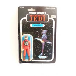star wars - B-wing pilot rétro action figure  - kenner - return of the jedi - 1983
