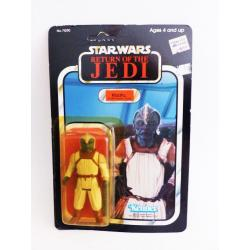 star wars - Klaatu  rétro action figure with blister  - kenner - return of the Jedi - 1983