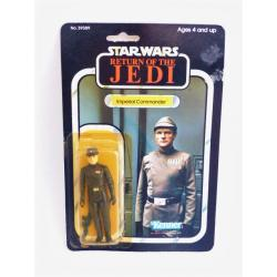 star wars - Imperial commander  rétro action figure with blister  - kenner - return of the Jedi - 1983