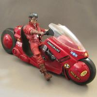 Akira - Kaneda & his bike action figure - Mc farlane Toys