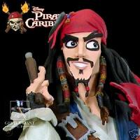 Pirats of the caribbean - Jack Sparrow - Gentle Giant Animated - with box