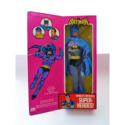 Batman - DC league of justice action figureFigurine DC ligue de justice -  retro articulated toy - Mego - 1976