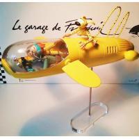 Spirou & Fantasio - statuette 46 cm numérotée collector le sous marin jaune du repère de la muraigne - Figures et vous