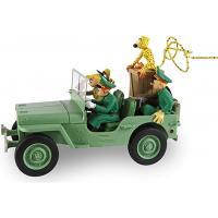 Spirou & Fantasio - statuette 20 cm la Jeep Willys MB numérotée collector de Franquin - Figures et vous