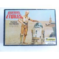 Star wars-Puzzle R2D2 & C3PO dans le désert