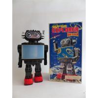 Retro collector metal Robot- Super explorer wide screen Vintage - SH Orikawa