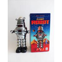 Retro collector plastic tin Robot-  Robby the robot Forbidden planet Vintage - Ha HA Toy