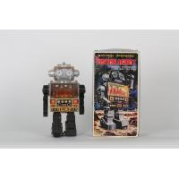 Retro collector metal & plastic tin Robot -Piston Robot Vintage - SJM