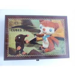 Colargol Boîte jeu de cubes-ORTF