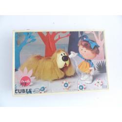Le manège enchanté-Boîte jeu de cubes -ORTF