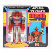 Shogun warriors - Dragun figurine complète en boîte avec notice - Mattel