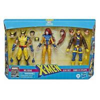 X-Men set 3 figurines Cyclops - Jean Grey - Wolverine - années 90 - hasbro
