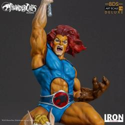 thundercats  vintage design - statuette Lion O  & Snarf in resin - Iron studios