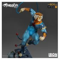 thundercats  vintage design - statuette Tygra in resin - Iron studios