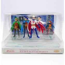 Gatchaman - Full tema action figure coffret - Unifive - used in box - 1980