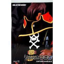 Albator-Figurine Captain Harlock Articulée - Real action Heroes - Medicom toys