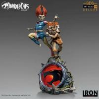 thundercats  vintage design - statuette Wilykit & Wilykat in resin - Iron studios