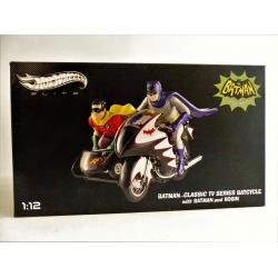 Batman & Robin - Batcycle série TV 60's - Hotwheels